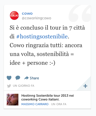 Storify Hosting Sostenibile